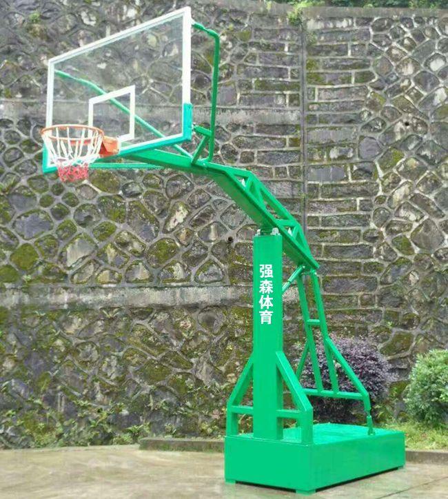 平箱仿液压篮球架生产厂家强森体育更专业