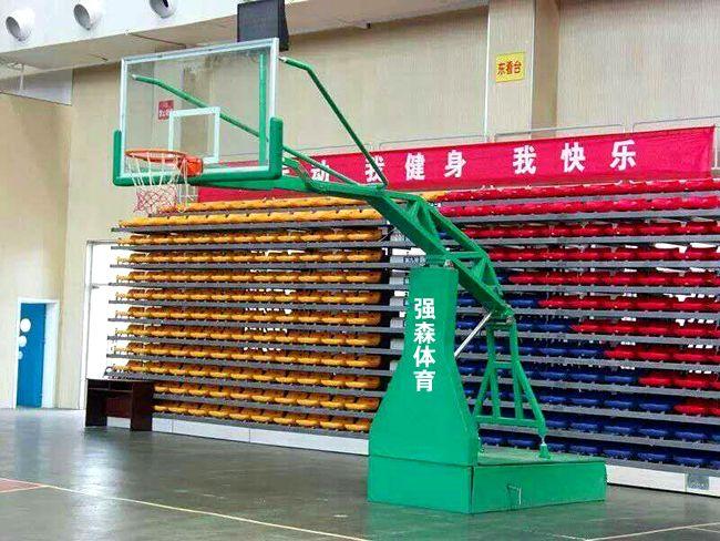 QSTY-003手动液压篮球架