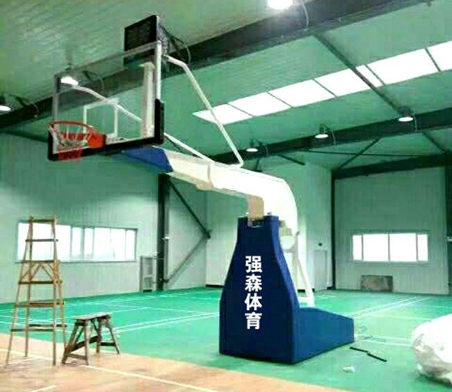 QSTY-0001电动液压篮球架