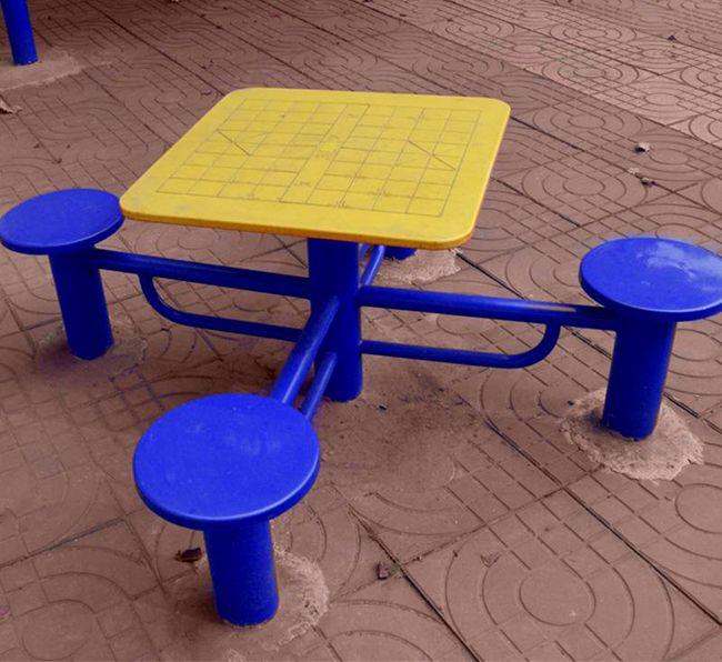 室外棋盘桌